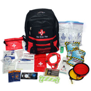 Pet Evac Pak Small Medium Dog Survival Kit