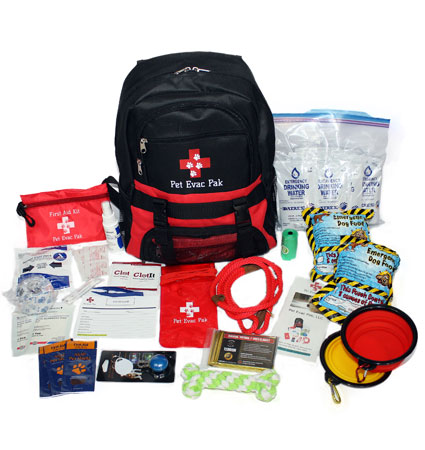 Pet Evac Pak Small Medium Dog Survival Kit