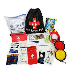Small Dog Cinch Bag Emergency Survival Kit