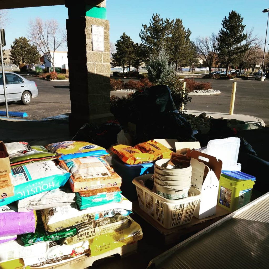 Pet Supply Donation Drive for Camp Fire victims