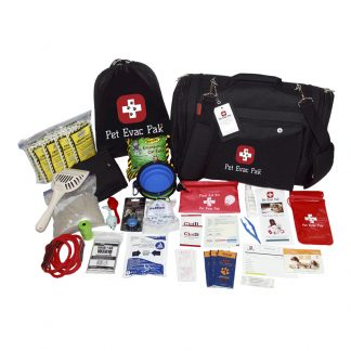 Cat Emergency Survival kit, Earthquake, Hurricane, Fire
