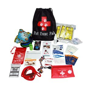 Small Dog Pack with Cinch Bag