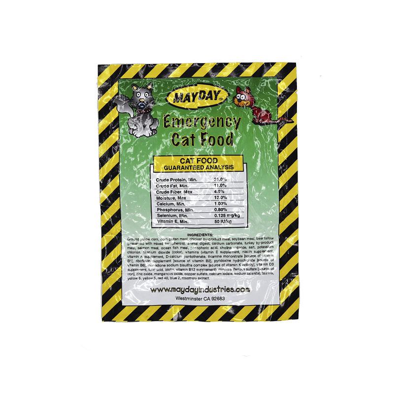 Mayday Cat food Ingrediencies