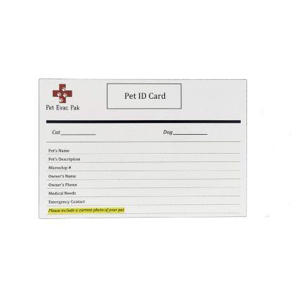 Pet ID Card
