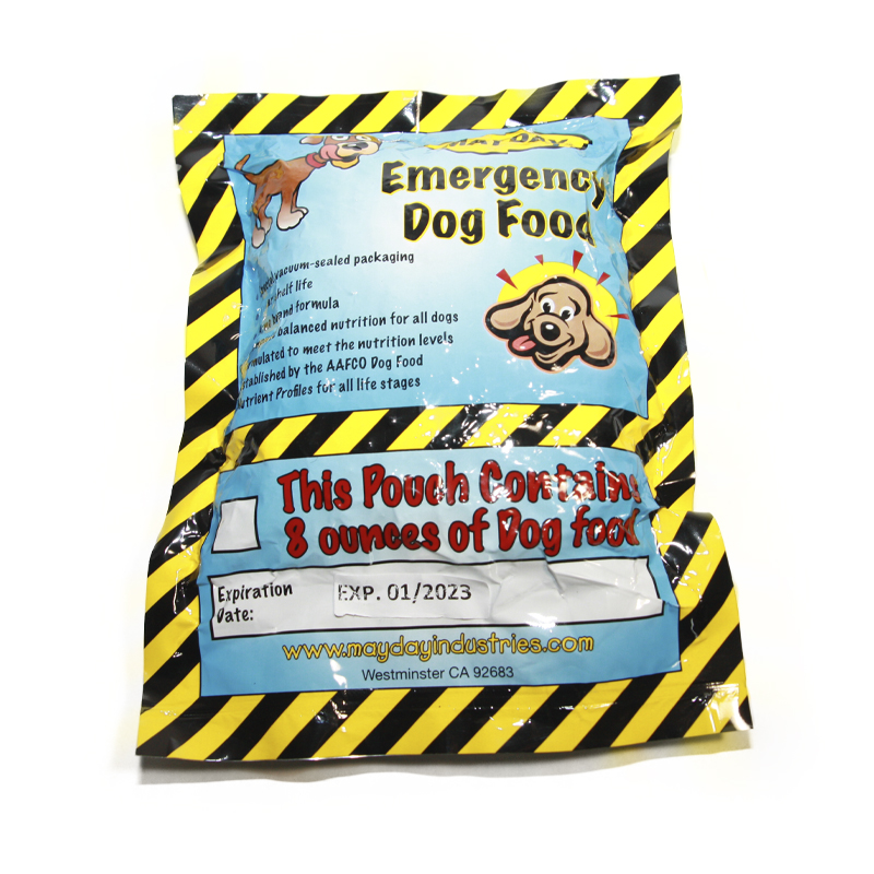 Mayday Emergency Dog Food Ration