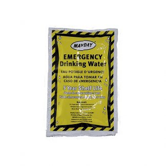 Mayday Emergency Drinking Water 5-year shelf life single packet
